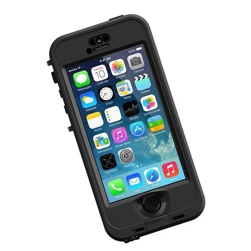 Lifeproof Nüüd Hülle iPhone 5(S)/SE schwarz