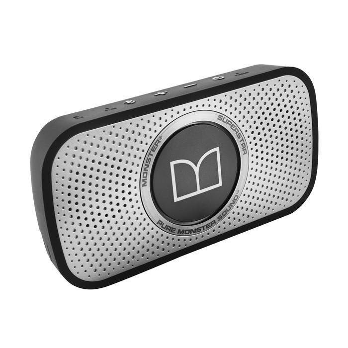 Monster Superstar HD Bluetooth Speaker grau