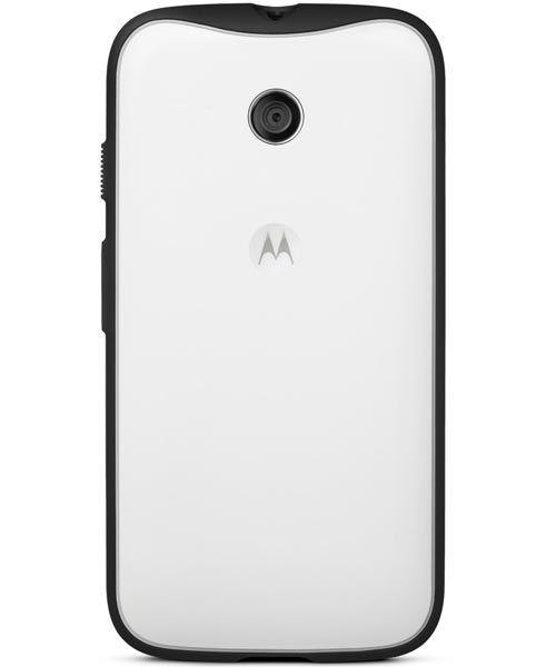 Motorola Grip Shell für Motorola Moto E weiß