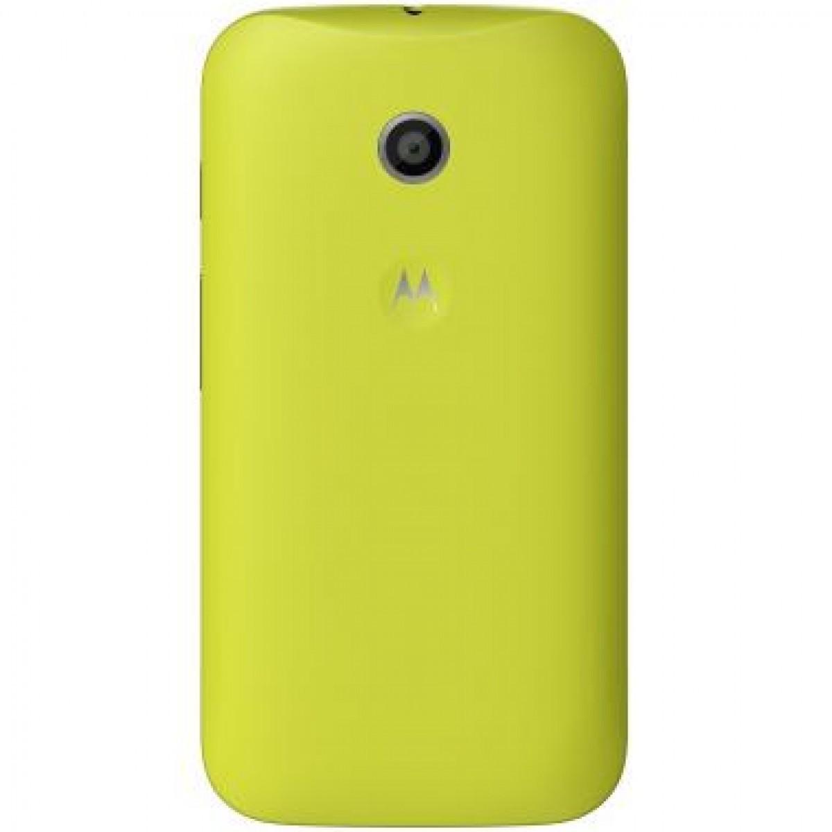 Motorola Shell für Motorola Moto E gelb