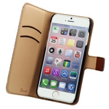 Muvit Wallet Case iPhone 6(S) braun