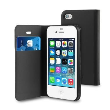 Muvit Wallet Case iPhone 5(S)/SE schwarz