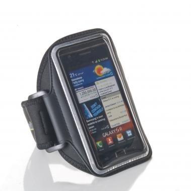 Muvit Ultra-Thin Universele Sport Armband iPhone 5(S)/SE/5C schwarz