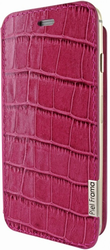 Piel Frama FramaSlim iPhone 6(S) Crocodile Fuchsia rosa