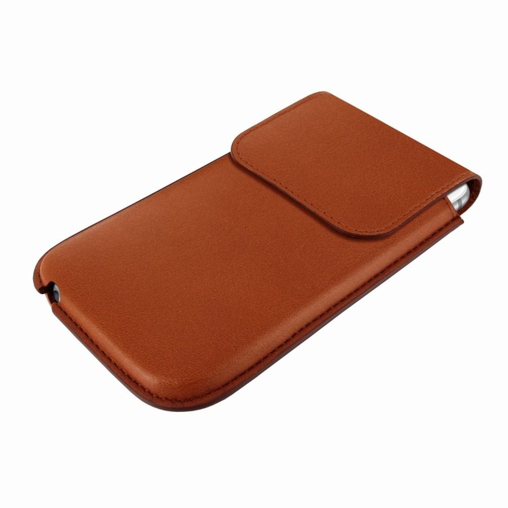 Piel Frama Unipur Sleeve iPhone 5(S)/C braun
