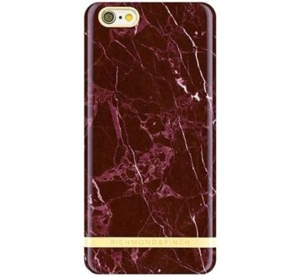 Richmond and Finch Marble Glossy iPhone 7 rot