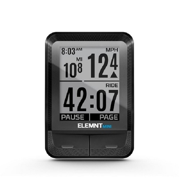 wahoo fitness elemnt mini fahrradcomputer rpm speed