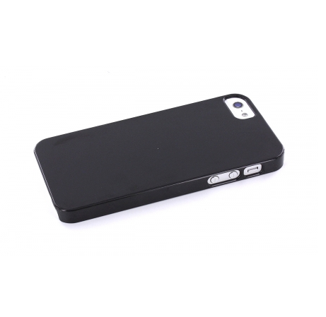 Mobiparts Backcover iPhone 5(S)/SE schwarz