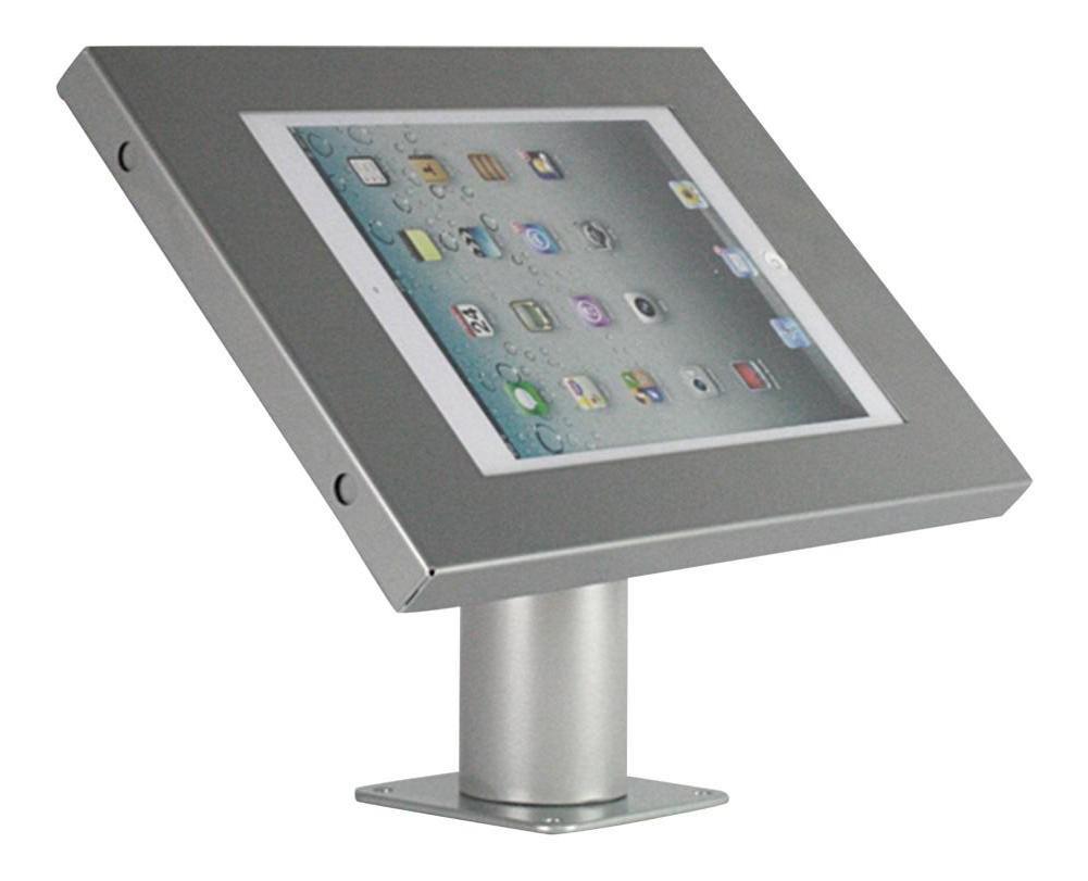 Tablet Wandhalterung/Tischständer Securo iPad und Galaxy Tab Grau