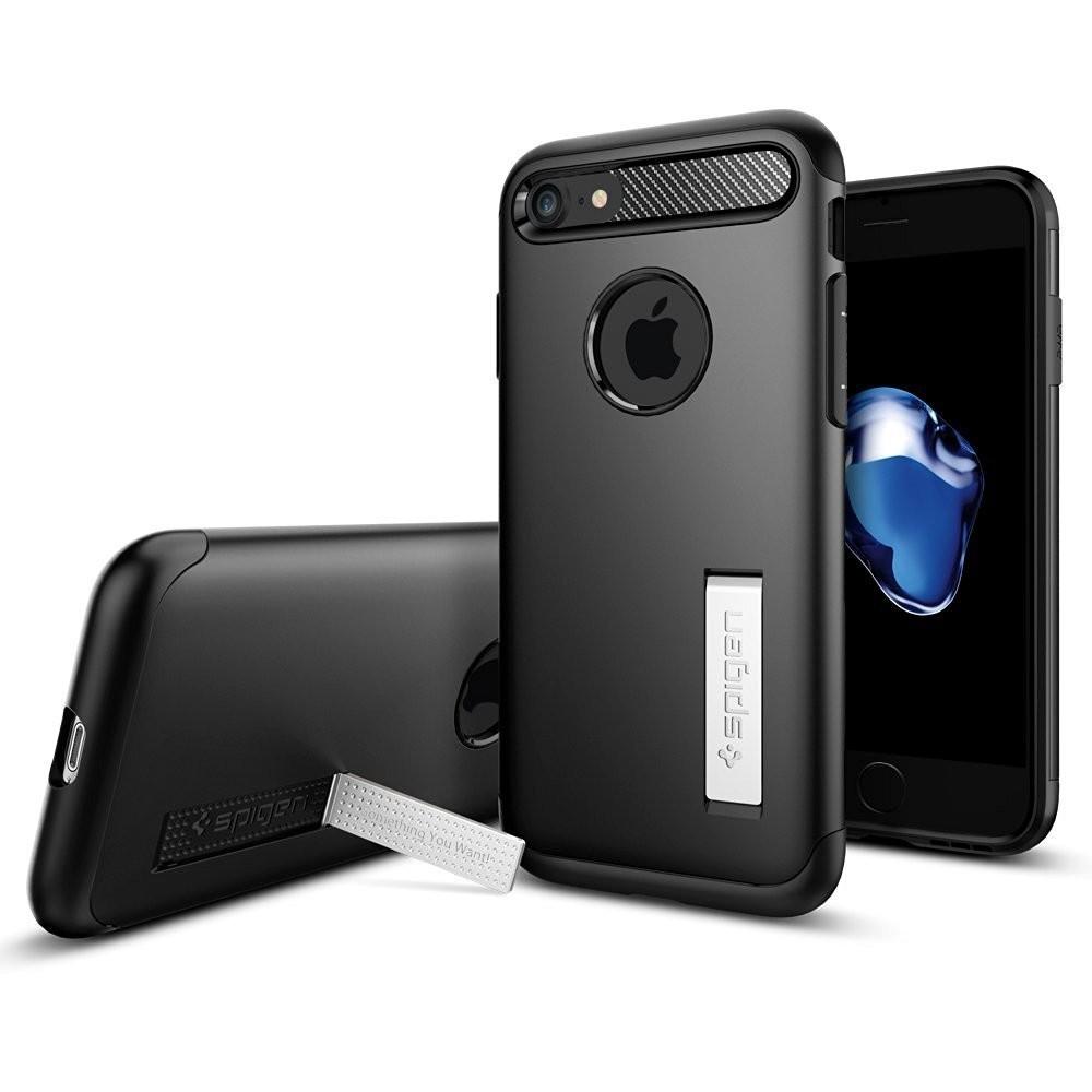 Spigen Slim Armor iPhone 7 schwarz