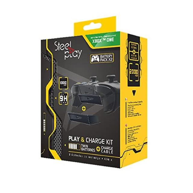Steelplay Xbox One Play & Charge Kit