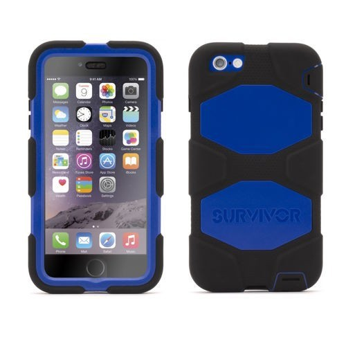 Griffin Survivor Hardcase iPhone 6(S) Plus blau/schwarz