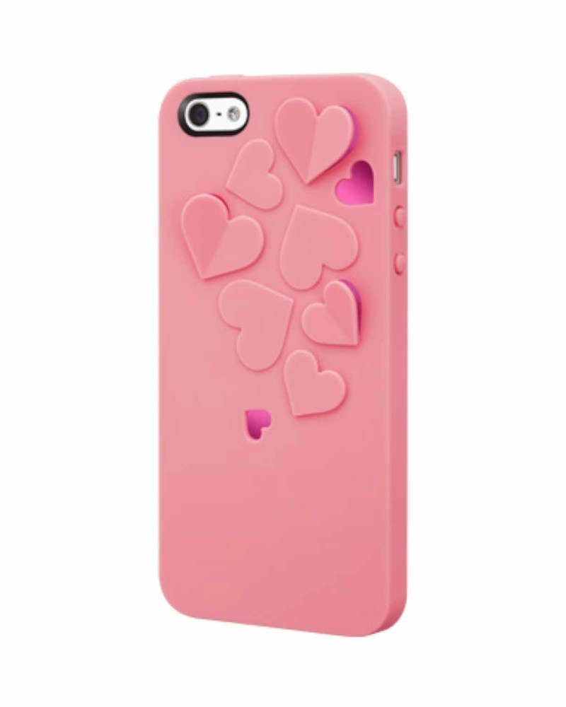 SwitchEasy Kirigami Sweet Love iPhone 5(S)/SE rosa