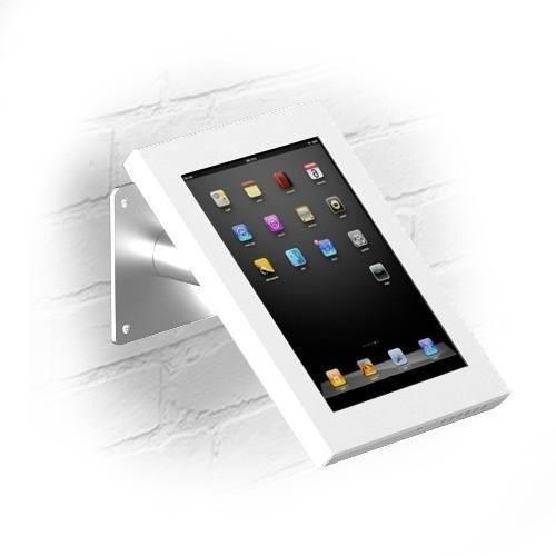 Wandhalterung/Tischständer Securo iPad Mini und Galaxy Tab Weiß