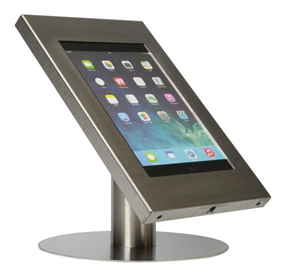 Tablet Tischständer iPad und Galaxy Tab Edelstahl