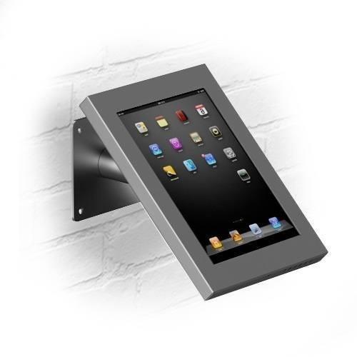 Wandhalterung/Tischständer Securo iPad Mini Grau