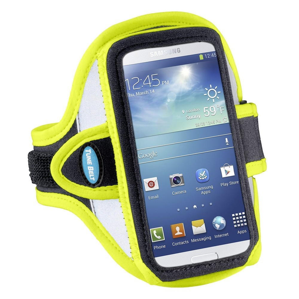 Tune Belt Sportarmband AB86 iPhone 6(S)/7 gelb