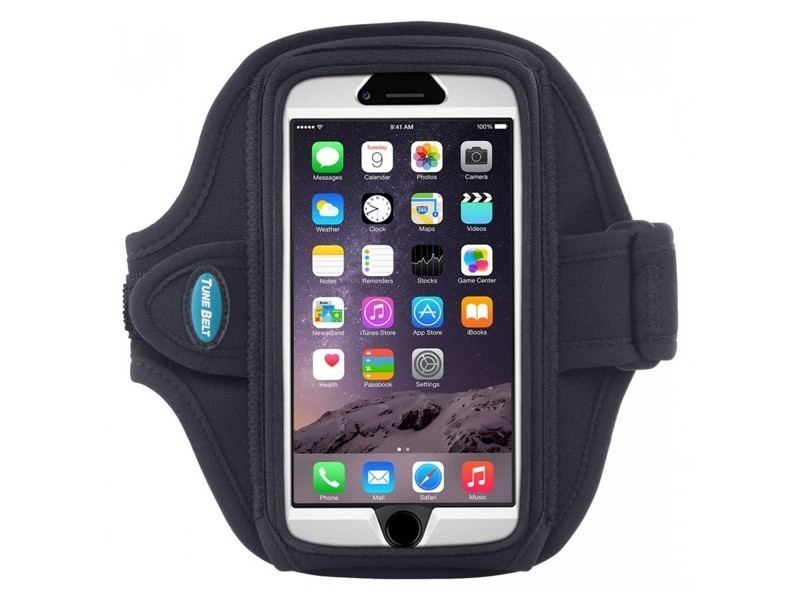 Tune Belt Sportarmband AB91 iPhone 6(S) Plus Schwarz
