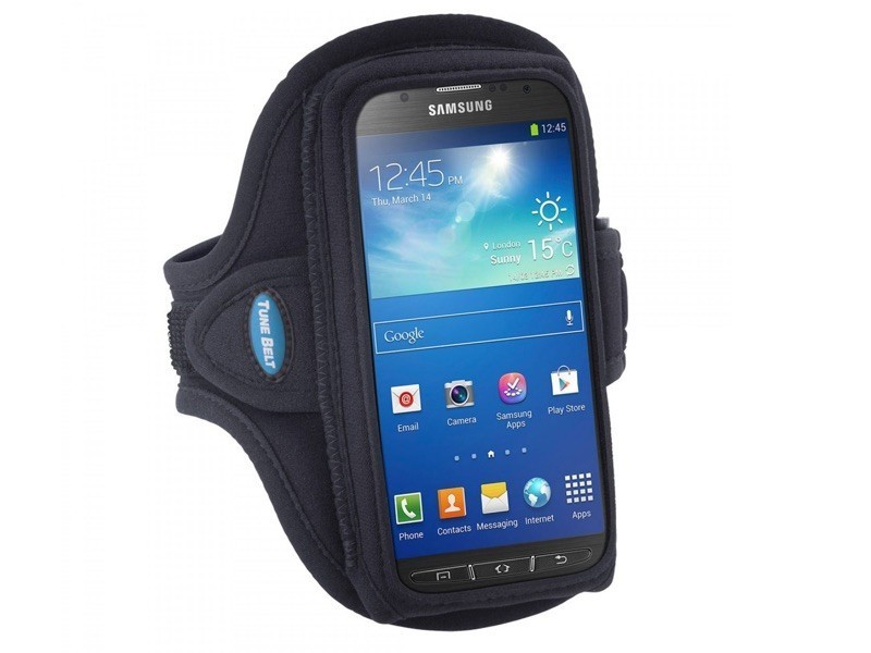Tune Belt Sportarmband AB89 Galaxy Note 3 schwarz