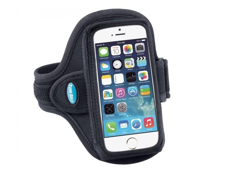 Tune Belt Sportarmband AB86 iPhone 6(S)/7 Schwarz