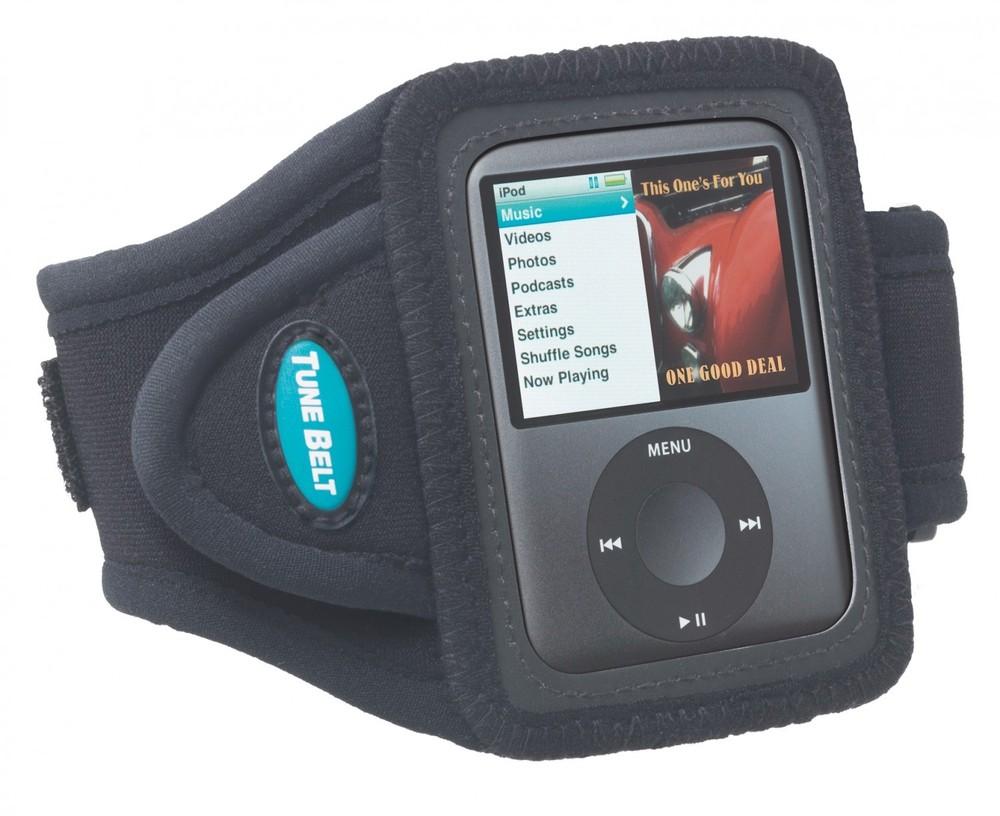 Tune Belt Sportarmband AB73 iPod nano Schwarz