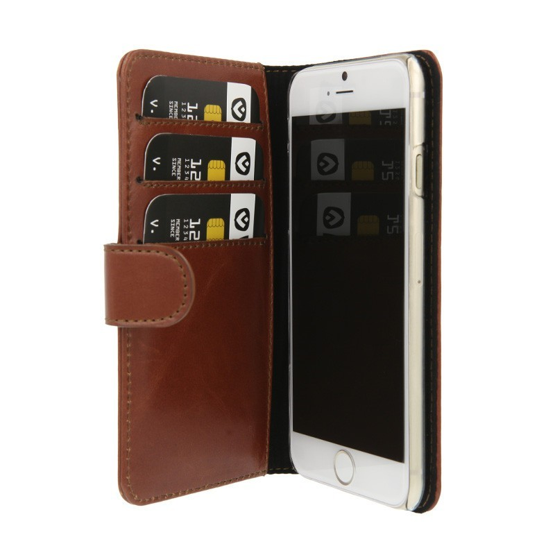 Valenta Booklet Wallet Case Classic iPhone 6(S) Brown