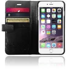 XtremeMac X-Wallet Leder Case iPhone 6(S) schwarz