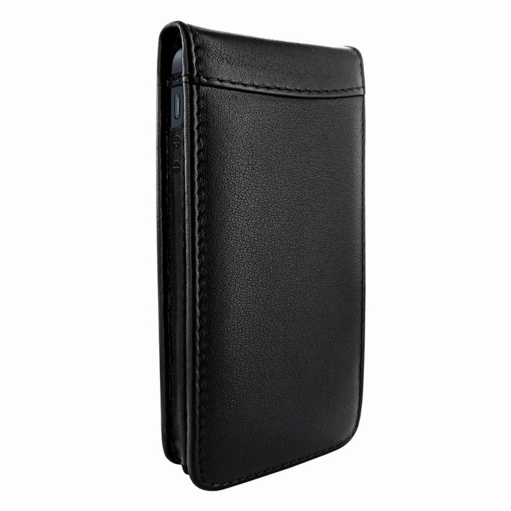 Piel Frama Magnetic Flipcase iPhone 5(S)/SE schwarz