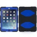 Griffin Survivor Hardcase iPad Air 1 blau-schwarz