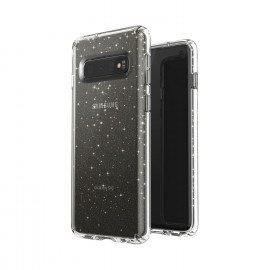 Speck Presidio Stay Samsung Galaxy S10 transparent / gold