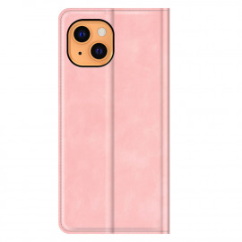 Casecentive Magnetic Leather Wallet Case iPhone 13 rosa