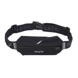 Fitletic Lycra Mini Sport Belt Schwarz