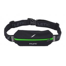 Fitletic Lycra Mini Sport Belt Schwarz / Grün