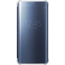Samsung Clear View Cover Galaxy S6 Edge Plus blau/schwarz