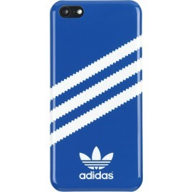 Adidas Basics iPhone 5C Hardcase Bluebird blau/weiß