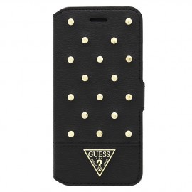 Guess Tessi iPhone 6 (S) Plus Folio Case zwart