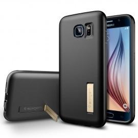 Spigen Capsule Galaxy S6 Solid schwarz