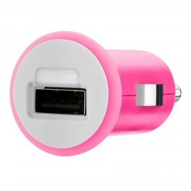 Belkin Micro 1A Car Charger USB Pink