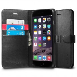 Spigen Wallet S iPhone 6(S) Plus schwarz