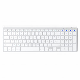 Satechi Aluminium Bluetooth Tastatur Silber (wireless)