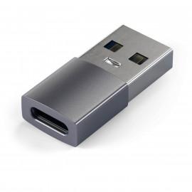 Satechi USB-A auf USB-C Adapter silber
