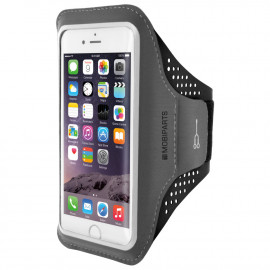 Mobiparts Comfort Fit Sport Armband Apple iPhone 6/6S/7/8/SE (2020) schwarz