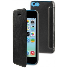 Muvit Easy Folio Book Case iPhone 5C schwarz