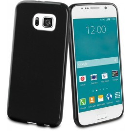Muvit Minigel Case Galaxy S6 Glossy schwarz