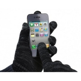 Avanca Touchscreen Handschuhe grau / schwarz