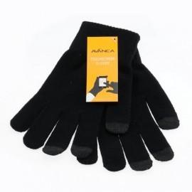 Avanca Touchscreen Handschuhe schwarz