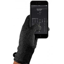 Mujjo Touchscreen-Handschuhe Large Single Layered schwarz
