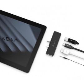 ADAM elements CASA Hub S4 USB-C 3.1 4 port Surface Go schwarz