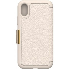 Otterbox Strada Folio iPhone X Beige