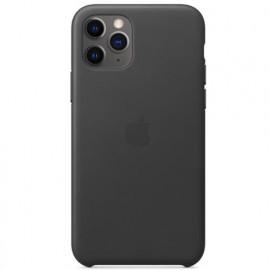 Apple Leder Hülle iPhone 11 Pro Max Schwarz